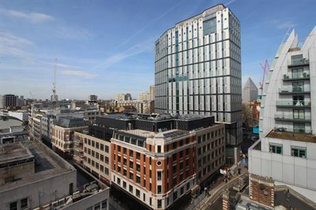 The scheme combines refurbishment with new buildings, including a 16 storey tower (PIC White Collar Factory)