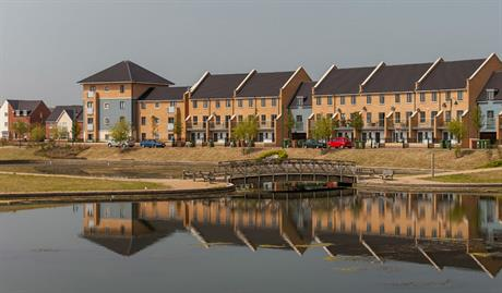 O&H Developments split up its Hamptons site near Peterborough into plots for different housebuilders [Pic Credit: Peter Olivier]