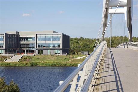 The Infinity Bridge is a symbol of the riverside renaissance (PIC Northshore)