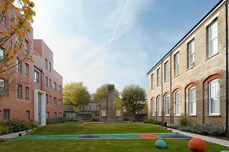 The scheme combines old and new buildings, with well designed communal spaces between (PIC PCKO)