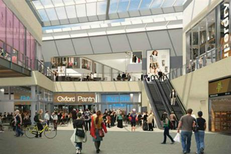 New internal streets are created in the shopping centre [Pic credit Oxford Westgate Alliance ]
