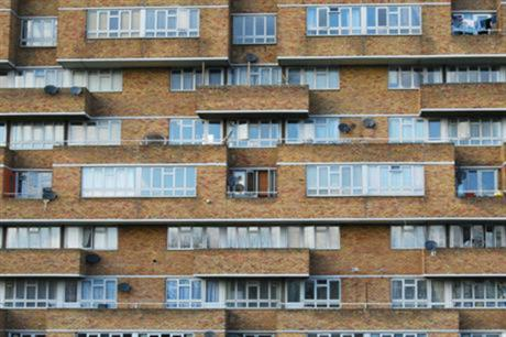 The government announced an estate regeneration programme