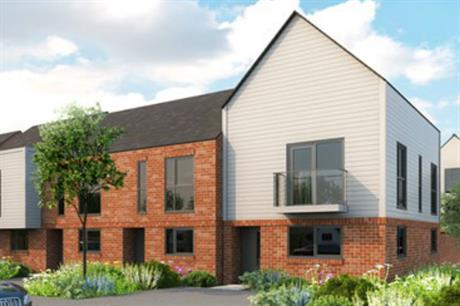 Lovell is already working across the West Midlands, delivering schemes like this one in Walsall