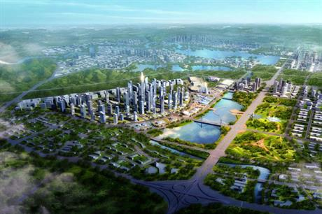 Tianfu New Area in China is designed on Garden City lines