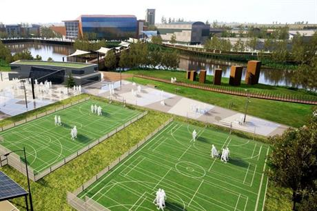The Wellness and Life Science Village concept brings together health, leisure, business and research