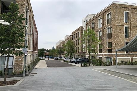 The choice of traditional stone and brick gives the new street a traditional feel (PIC Tomasz Fiszer)