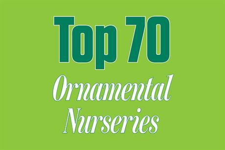Top 70 UK Ornamentals Nurseries boast a combined turnover of more than £800m