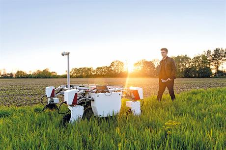 What are the latest areas where robotics can help growers?