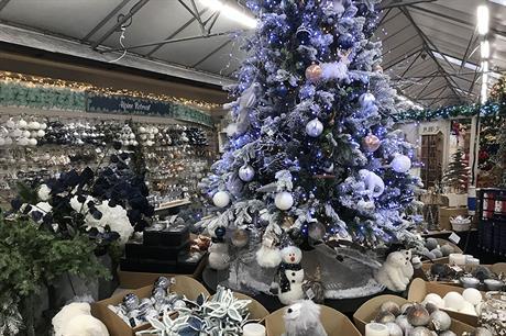 Garden centre Christmas displays 2020 - photo tours