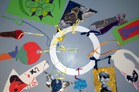 Artwork created by people attending the courses (Image: Bedminster Family Practice)
