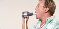 COPD diagnoses are reconfirmed using in-house spirometry