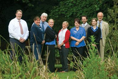 Previous winners: The Elmham Surgery staff