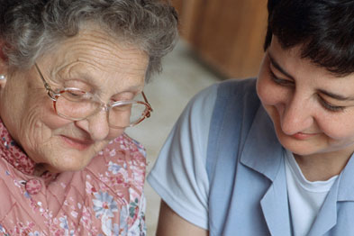 A short-term live-in carer can ensure the patient has regular meals
