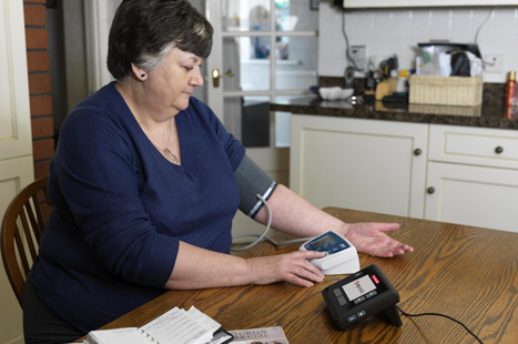 Telehealth gives patients the confidence to manage their own condition at home. (Image: Context PR)