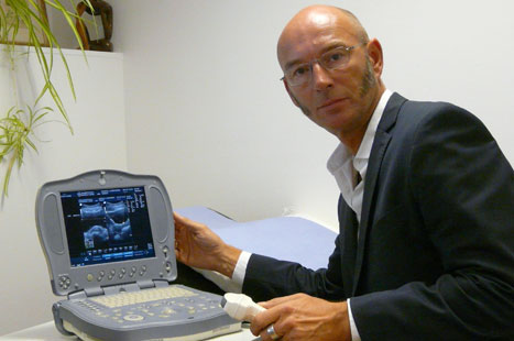 Dr Schuttpelz: 'I scan patients opportunistically or they attend a dedicated session'
