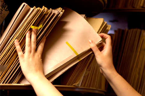 How much valuable space are medical records using at your practice? (Image: iStock)