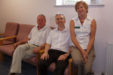 Rosemary Blakesley, Bob Brown and Dr Ian Wheatley