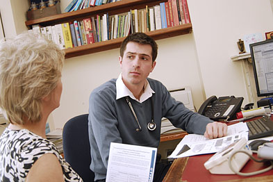 Liasing with dispensary manager, a GP acts as a conduit between the dispensary and partners