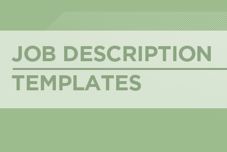 templates for general practice job descriptions