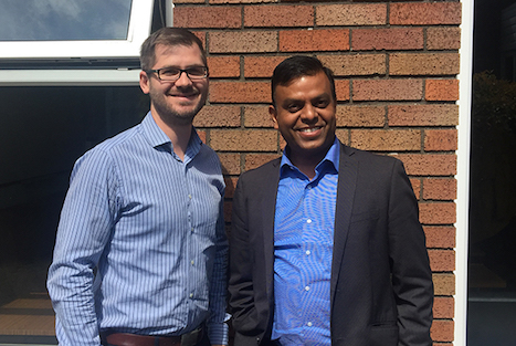 Dr Tom Milligan and Dr Dinesh Kumar