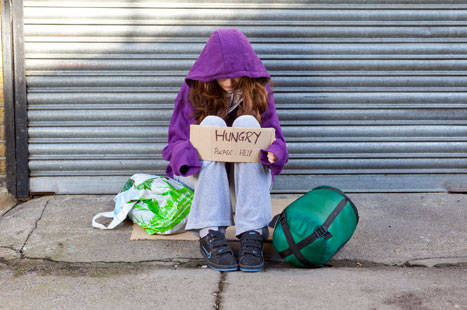 Dr Fisher: health is not a priority for many of our patients, who include homeless people. Image Alex Deverill