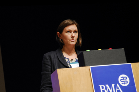 Dr McCarron-Nash: the named GP role is one of oversight and co-ordination (image: Jason Heath Lancy)