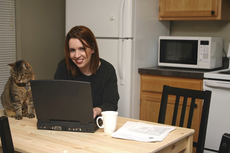 All employees have the right to request flexible working such as working from home (image: iStock)
