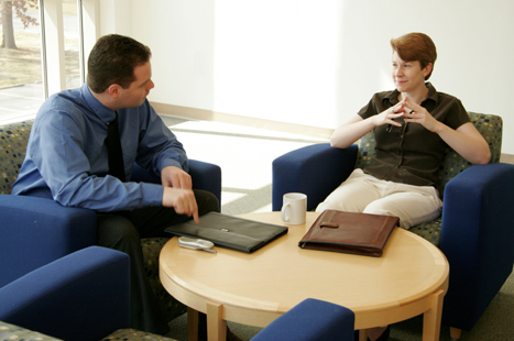 Consider whether an informal discussion might resolve the problem (image: iStock)