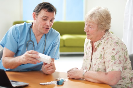 Pharmacists can help with medication reviews and repeat prescriptions (Picture: iStock)