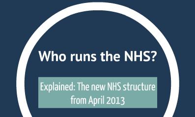Who runs the NHS?