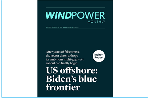 Read the latest Windpower Monthly online