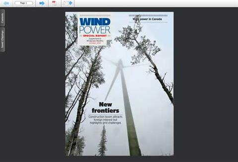 Canadian Wind Power - Special Report