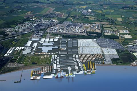 UK backs 'world's biggest' offshore wind monopile factory