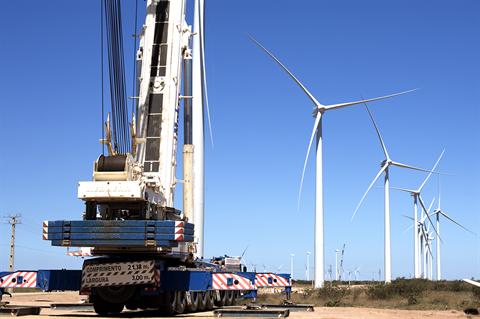 Votorantim secures financing for 409MW onshore wind hub
