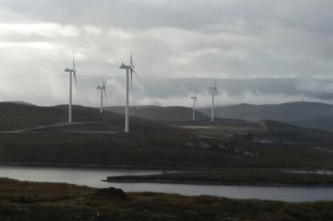 Increased wind electricity generation helps displace coal
