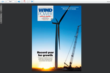 Wind power in Canada - Special Report