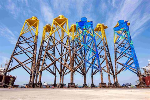 Digital twins 'can cut steel costs for offshore wind foundations'