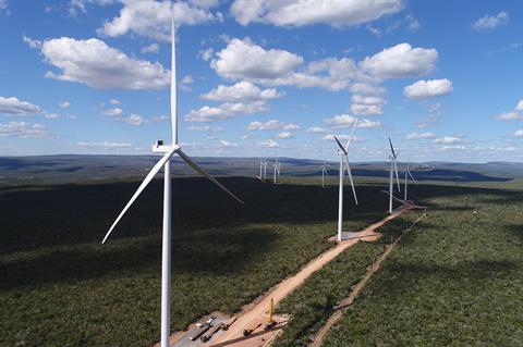 Engie kicks off work on Peru's largest wind farm