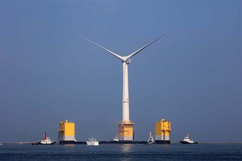 Floating offshore wind could flourish in Asia as costs fall