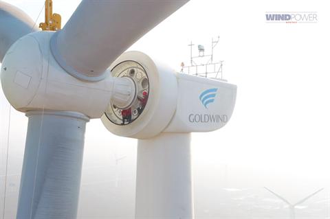 Best onshore turbine to 3.4MW: Goldwind