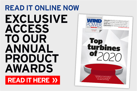 January 2021 issue of Windpower Monthly