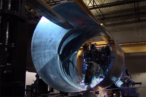 US firm promises faster build with spiral-welded wind towers