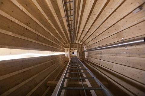 Vestas backs wooden wind tower start-up
