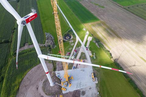 Nordex installs first N163/5.X prototype