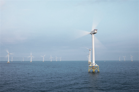 Rotor and blades fall into sea at UK offshore wind farm