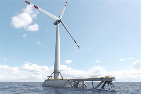 Saitec plans pilot with three 15MW floating wind turbines