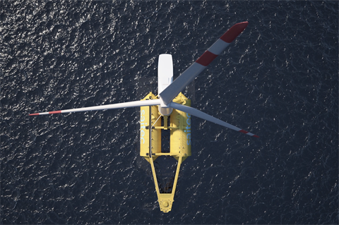 Floating wind pilot could power Canadian oil and gas drilling