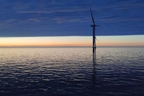 First power at RWE's largest offshore wind farm