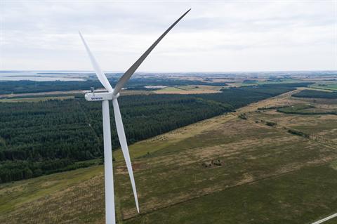 Vestas to boost V155 onshore wind turbine to 3.6MW