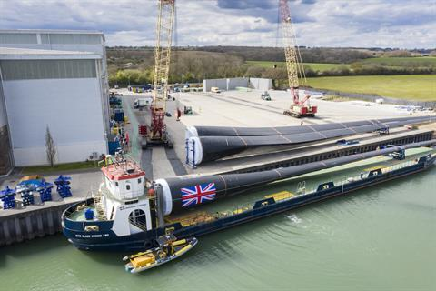 Vestas considers expanding UK blade production